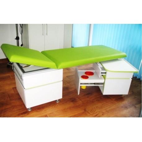 Кушетка - гинекологична с двустранно повдигане при гърба и краката