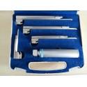 Ветеринарен ларингоскоп комплект с 4 лъжици