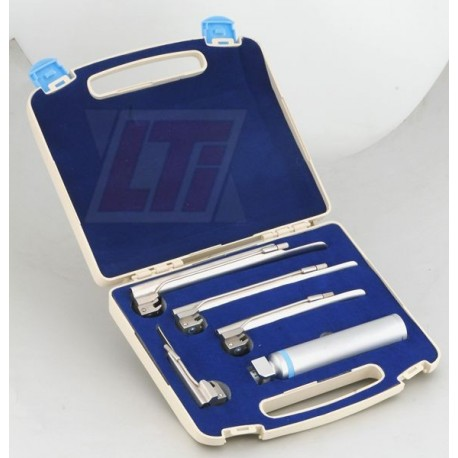 Veterinary Miller Laryngoscope Set of 4 blades